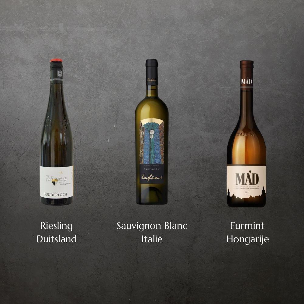 smaaktest wijnen